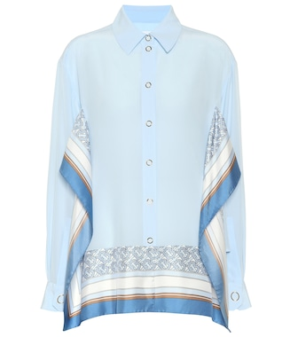 Burberry - Silk blouse - mytheresa.com
