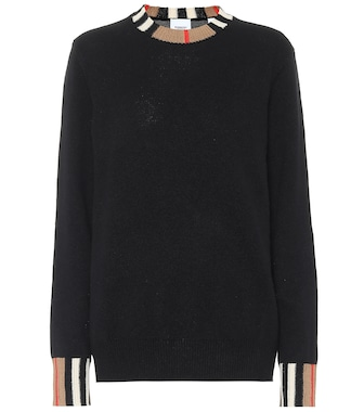 Burberry - Icon Stripe cashmere sweater - mytheresa.com