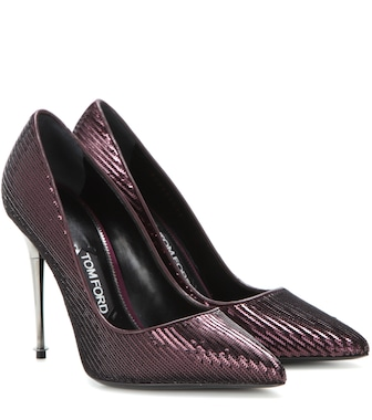 Tom Ford - Sequinned pumps - mytheresa.com