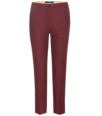 Etro - Cropped wool-blend trousers - mytheresa.com