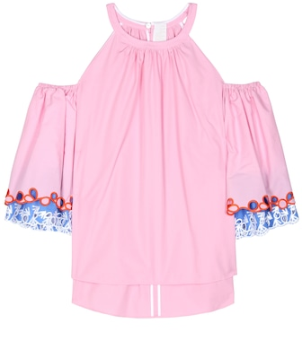 Peter Pilotto - Cotton blouse - mytheresa.com