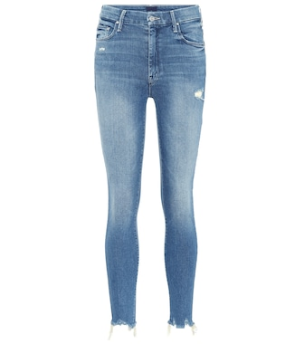 Mother - High Waisted Looker Ankle Chew jeans - mytheresa.com