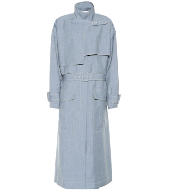 Joseph - Warrick linen, wool and silk coat - mytheresa.com