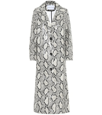 Stand Studio - Mollie snake-effect coat - mytheresa.com