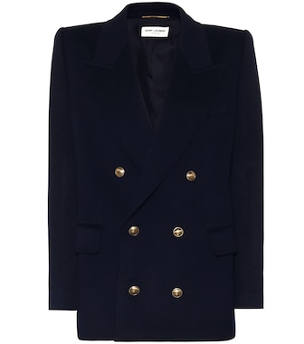 Saint Laurent - Wool-blend blazer - mytheresa.com