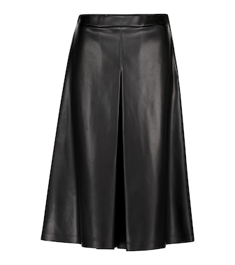 Maison Margiela - Faux leather culottes - mytheresa.com