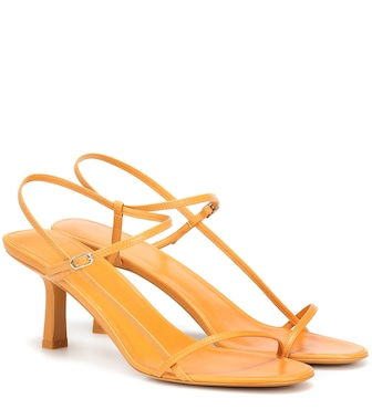 The Row - Sandali Bare in pelle - mytheresa.com