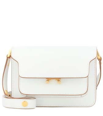 Marni - Trunk Mini leather shoulder bag - mytheresa.com