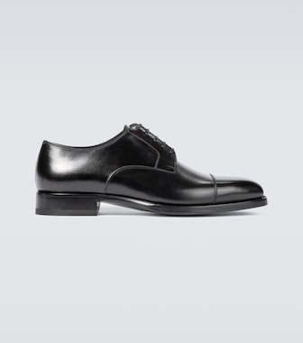 Tom Ford - Wessex leather lace-up shoes - mytheresa.com