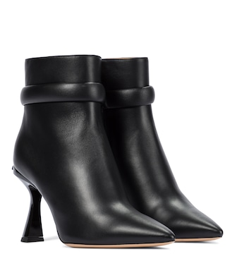 Givenchy - Carène leather ankle boots - mytheresa.com