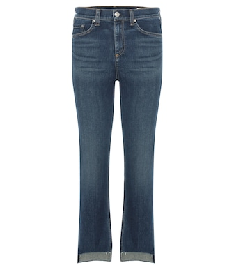 Rag & Bone - 10 Inch Stove Pipe cropped jeans - mytheresa.com