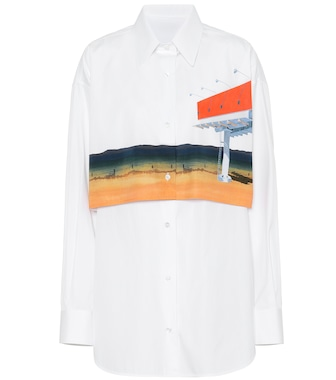 Calvin Klein 205W39NYC - Printed cotton shirt - mytheresa.com