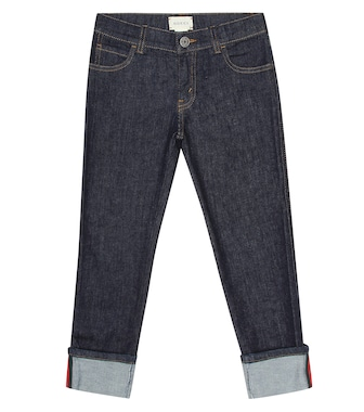 Gucci Kids - Cotton jeans - mytheresa.com