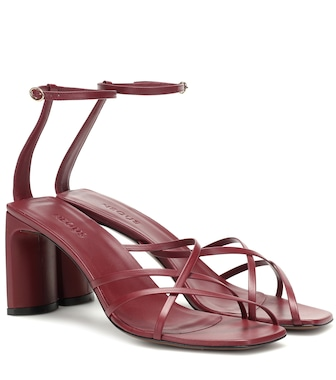 Neous - Barbosella leather sandals - mytheresa.com