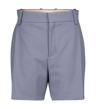Chloé - Wool twill shorts - mytheresa.com