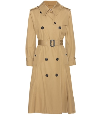 Balenciaga - Cotton trench coats - mytheresa.com