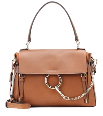 Chloé - Medium Faye Day leather shoulder bag - mytheresa.com