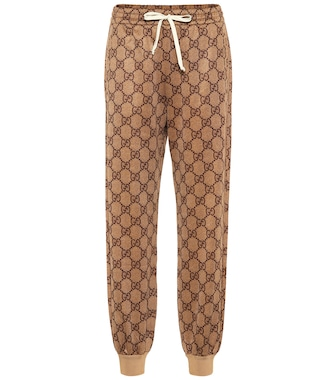 Gucci - GG technical jersey trackpants - mytheresa.com