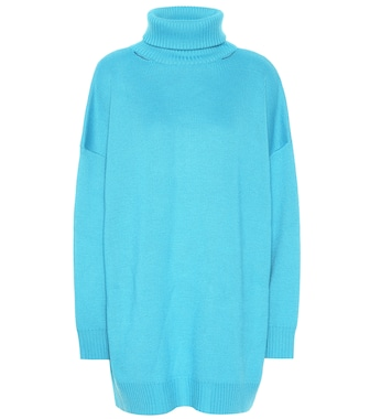 Balenciaga - Oversized wool-blend sweater - mytheresa.com