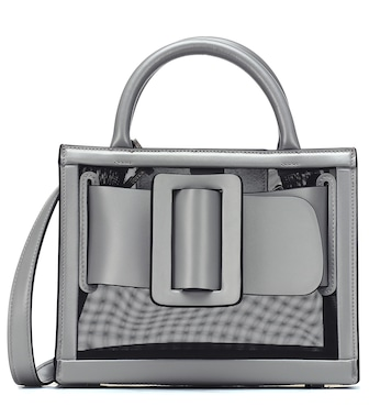 Boyy - Bobby 23 mesh and leather tote - mytheresa.com