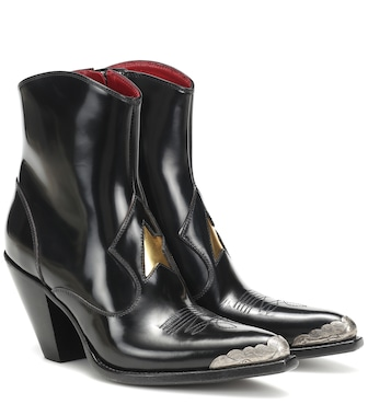 Golden Goose - Nora leather cowboy boots - mytheresa.com