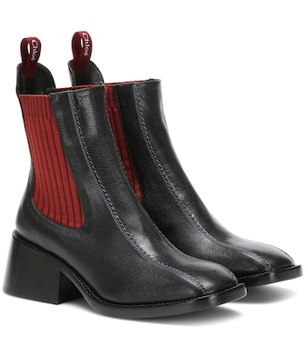 Chloé - Bea leather Chelsea boots - mytheresa.com