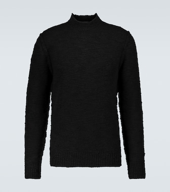 Dolce & Gabbana - Wool-blend mock neck sweater - mytheresa.com
