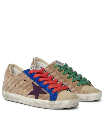 Golden Goose - Exclusive to Mytheresa – Superstar corduroy sneakers - mytheresa.com