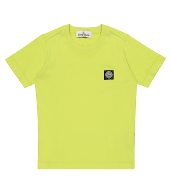 Stone Island Junior - Logo cotton jersey T-shirt - mytheresa.com