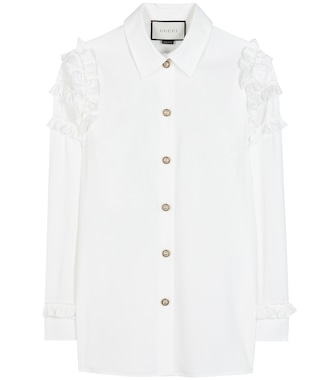 Gucci - Cotton shirt - mytheresa.com