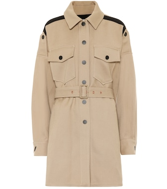 See By Chloé - Cotton-blend coat - mytheresa.com