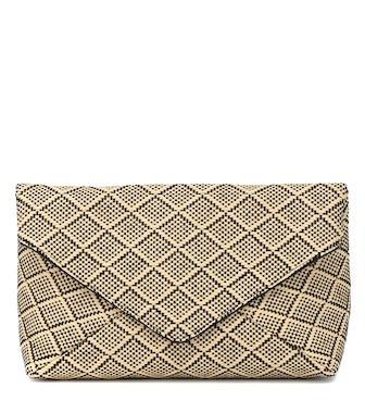 Dries Van Noten - Raffia clutch - mytheresa.com
