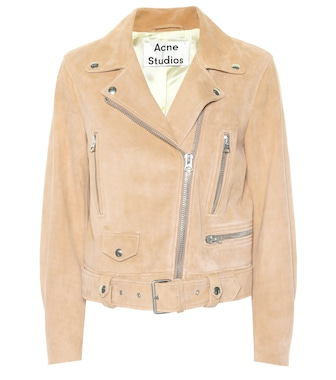 Acne Studios - Exclusive to Mytheresa – Mock suede biker jacket - mytheresa.com
