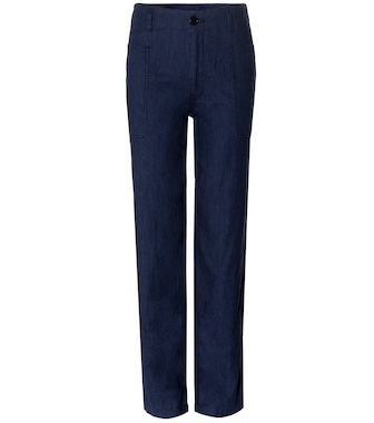 Vince - Utility denim trousers - mytheresa.com