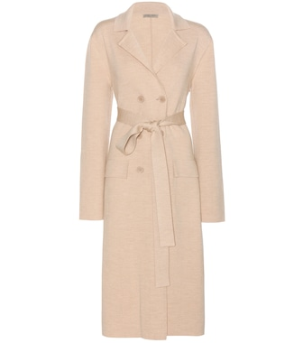 Bottega Veneta - Knitted wool trench coat - mytheresa.com