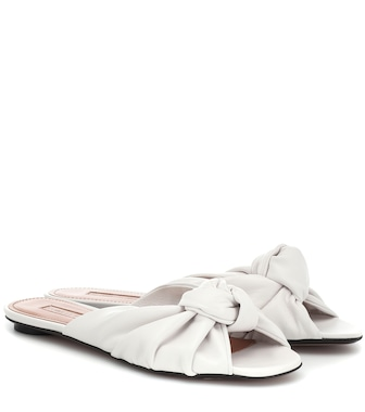 Samuele Failli - Betsy leather slippers - mytheresa.com