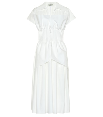 Fendi - Cotton taffeta dress - mytheresa.com