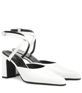Balenciaga - Leather sandals - mytheresa.com