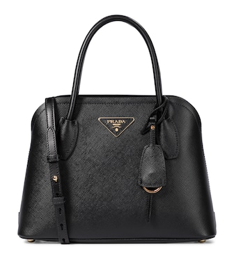 Prada - Matinee leather tote - mytheresa.com