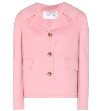 Valentino - Virgin wool and cashmere jacket - mytheresa.com