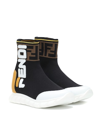 Fendi Kids - FENDI MANIA sock sneakers - mytheresa.com