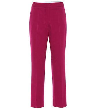 Stella McCartney - Carlie high-rise slim pants - mytheresa.com