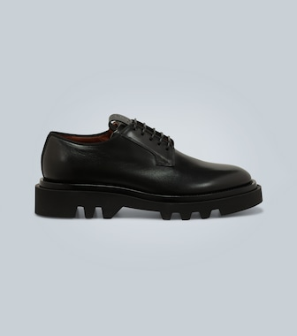 Givenchy - Leather Derby shoes - mytheresa.com