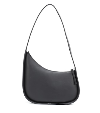 The Row - Half Moon leather shoulder bag - mytheresa.com