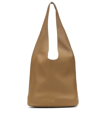 The Row - Bindle Three leather tote - mytheresa.com