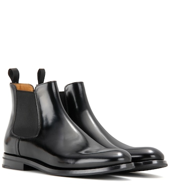 Church's - Monmouth leather ankle boots - mytheresa.com