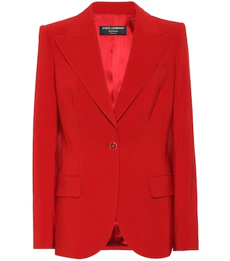 Dolce & Gabbana - Exclusive to Mytheresa – cotton-blend blazer - mytheresa.com