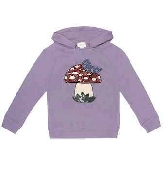 Gucci Kids - Sequined cotton hoodie - mytheresa.com