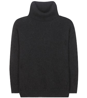 Saint Laurent - Mohair and wool-blend sweater - mytheresa.com
