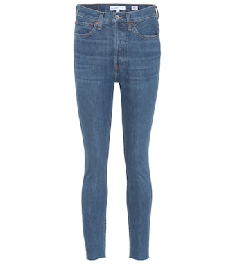 Re/Done - High-Rise Skinny Jeans - mytheresa.com